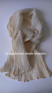 Pañuelo Muselina arrugado Al algodoncito
